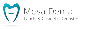 Mesa Dental logo - cosmetic & implant dentistry san diego